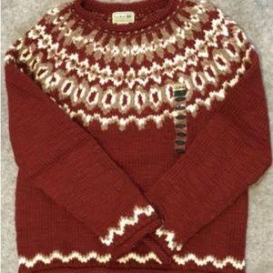 L. L. Bean Women's 100% Wool Sweater